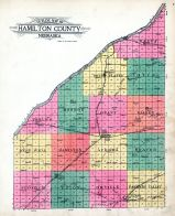 County Outline Map, Hamilton County 1923