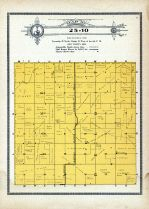 Township 25 Range 10, Lake, Deloit, Holt County 1915