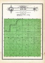 Township 25 Range 14, Wyoming, Holt County 1915