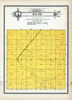 Township 25 Range 16, Swan, Holt County 1915