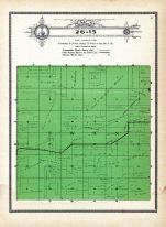Township 26 Range 15, Swan, Holt County 1915