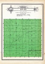 Township 27 Range 13, Fairview, Shamrock, Holt County 1915