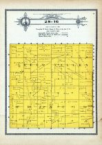 Township 28 Range 16, Green Valley Francis, Holt County 1915