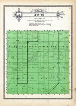 Township 29 Range 15, Stuart, Sheridan, Green Valley, Holt County 1915