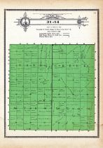 Township 31 Range 14, Sand Creek Atkinson, Holt County 1915