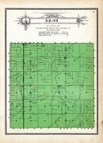 Township 32 Range 15, Cleveland, Sand Creek, Holt County 1915