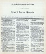 Directory 1, Howard County 1917