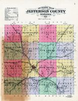 County Map, Jefferson County 1900