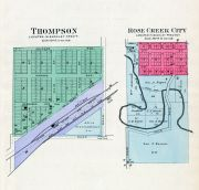 Thompson, Rose Creek City, Jefferson County 1900