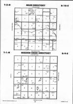 Pawnee County Map Image 005, Johnson and Pawnee Counties 1992