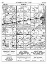 Hayes Township 1, Minden, Kearney County 1951
