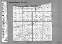 Index Map, Kearney County 1992