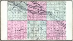 Old Fort McPherson Military Reservation, South Platte River, Brady, Union Pacific R.R., Lincoln County 1907
