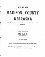 Title Page, Madison County 1961