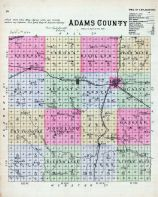 Adams County, Nebraska State Atlas 1885