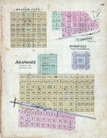 Arapahoe, Beaver City, Cambridge, Homerville, Nebraska State Atlas 1885