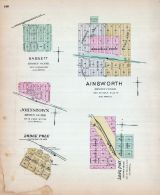 Bassett, Ainsworth, Johnstown, Lodge Pole, Long Pine, Nebraska State Atlas 1885