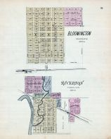 Bloomington, Riverton, Nebraska State Atlas 1885