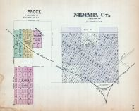 Brock, Nemaha - City, Nebraska State Atlas 1885