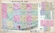 Buffalo County, Ogallala, Scotia, Nebraska State Atlas 1885