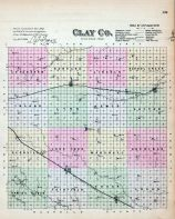 Clay County, Nebraska State Atlas 1885