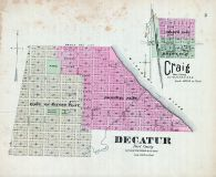 Craig, Decatur, Nebraska State Atlas 1885