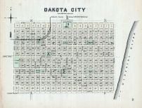 Dakota City, Nebraska State Atlas 1885