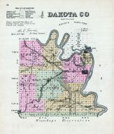 Dakota County, Nebraska State Atlas 1885