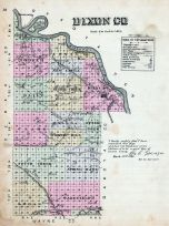 Dixon County, Nebraska State Atlas 1885
