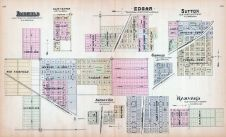 Fairfield, Clay Center, Saronville, Edgar, Sutton, Glenville, Harvard, Nebraska State Atlas 1885