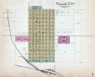 Falls City, Nebraska State Atlas 1885