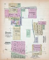 Friend, Dorchester, Western, Tobias, Nebraska State Atlas 1885