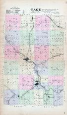 Gage County, Nebraska State Atlas 1885