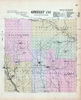 Greeley County, Nebraska State Atlas 1885