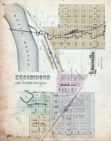 Greenwood, Louisville, Nebraska State Atlas 1885