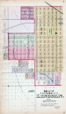 Lincoln - City South, Nebraska State Atlas 1885