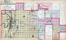 Lincoln - North, Nebraska State Atlas 1885