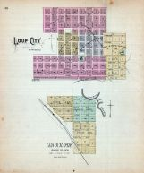 Loup City, Cedar Rapids, Nebraska State Atlas 1885