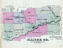 Mange County, Nebraska State Atlas 1885
