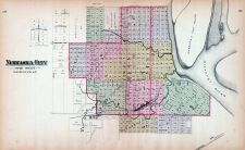 Nebraska City, Nebraska State Atlas 1885