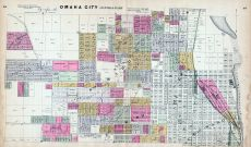 Omaha - Central, Nebraska State Atlas 1885