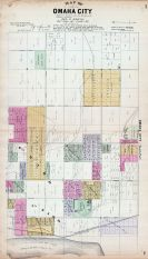 Omaha City - North, Nebraska State Atlas 1885