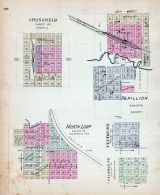Springfield, Papillion, North Loup, Nebraska State Atlas 1885