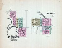 St. Edwards, Albion, Nebraska State Atlas 1885