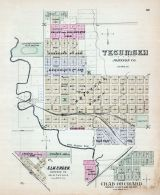 Tecumseh, Elk Creek, Crab Orchard, Nebraska State Atlas 1885