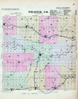 Thayer County, Nebraska State Atlas 1885