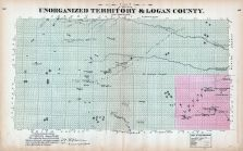Unorganized Territory and Logan County, Nebraska State Atlas 1885