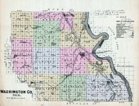 Washington County, Nebraska State Atlas 1885