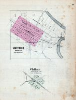 Waterloo, Valley, Nebraska State Atlas 1885