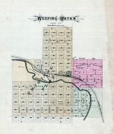 Weeping Water, Nebraska State Atlas 1885